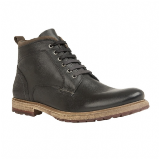 Lotus Teddington Mens Black Leather Boots